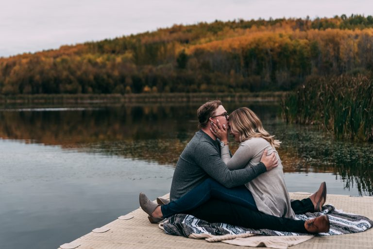 Chickakoo Lake Engagement Session